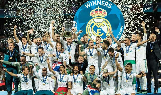 Real Madrid claims title of UEFA Champions League