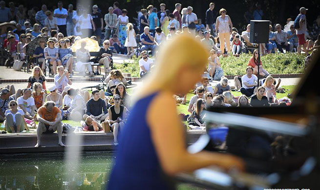 Chopin open-air concert held at Royal Lazienki Park in Warsaw