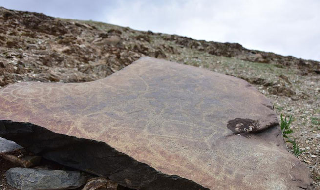 2,000-year-old rock paintings discovered in Tibetan region