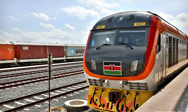 Kenya marks 1st anniversary of SGR passenger train amid smooth operation