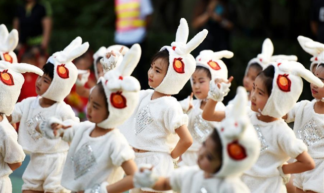 In pics: activities held around China to celebrate Int'l Children's Day