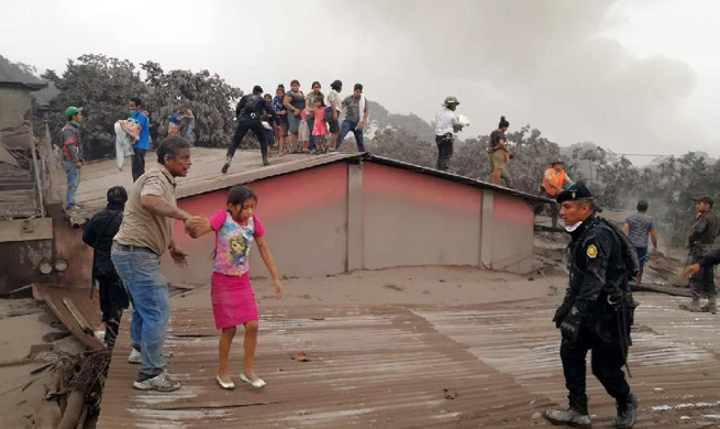 At least 7 dead, 296 injured in Guatemala volcano eruption