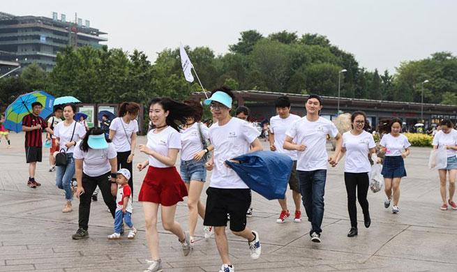 Voluntary activity held across China to greet World Environment Day