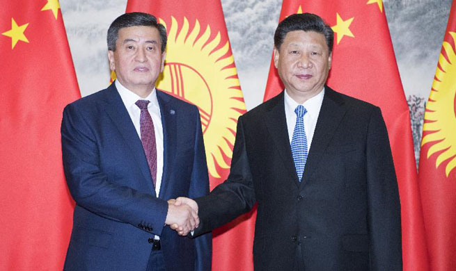 China, Kyrgyzstan agree to establish comprehensive strategic partnership