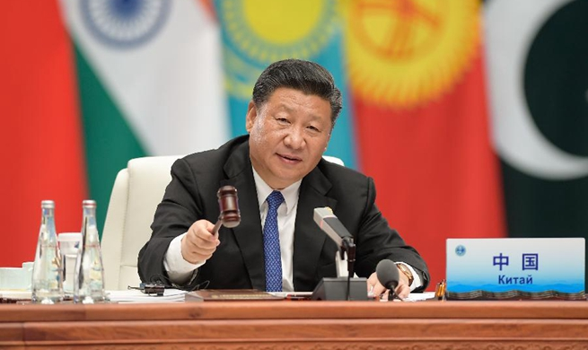 Xi calls for building SCO community with a shared future