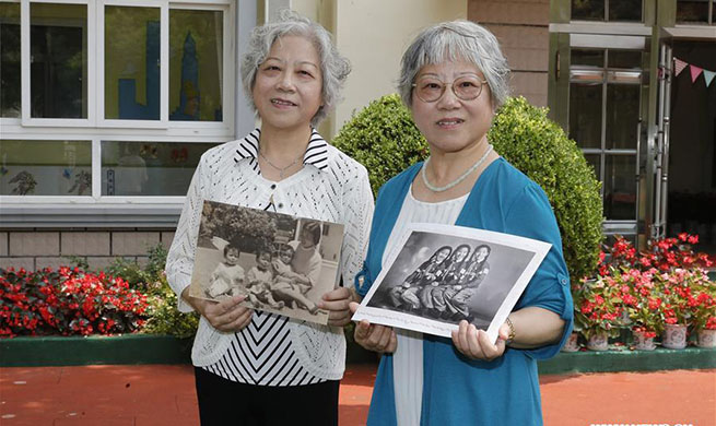 Photo exhibition held to mark 80th anniv. of China Welfare Institute Nursery in Shanghai