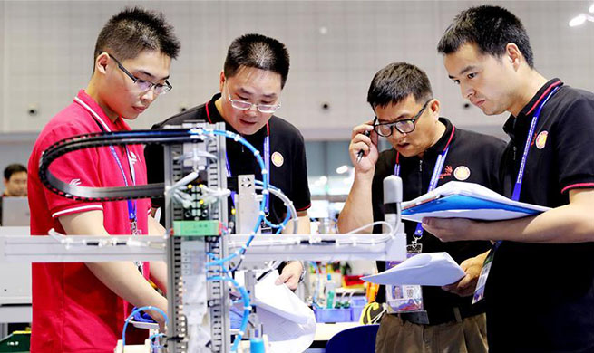 National selection match of Worldskills Competition held in Shanghai