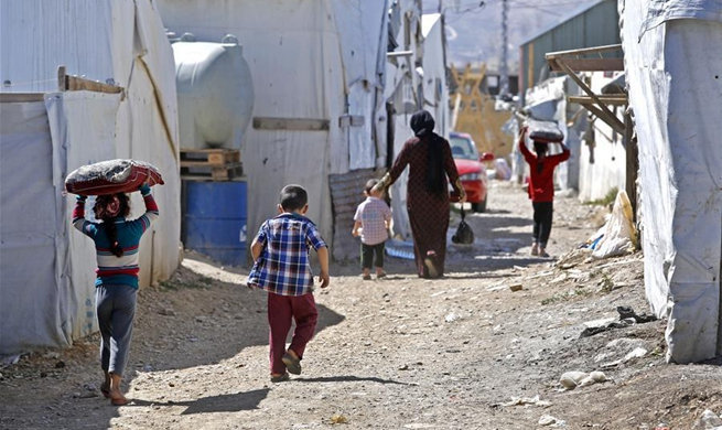 Number of people forcibly displaced hits new high of 68.5 mln in 2017: UN
