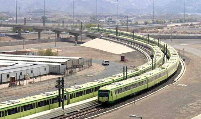 Chinese company starts testing Mecca Light Rail for upcoming Hajj pilgrimage