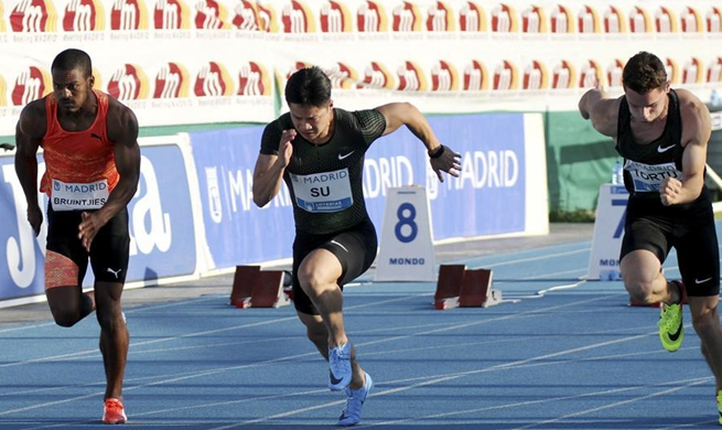 China's Su Bingtian moving closer to men's 100m world record