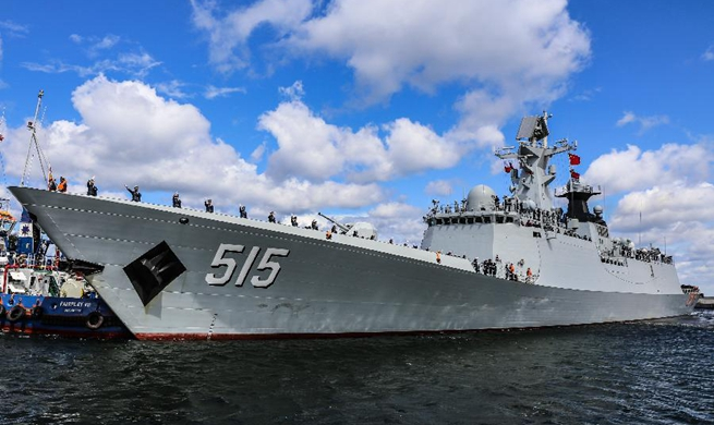 "Chinese frigate ""Binzhou"" starts five-day visit to Poland"