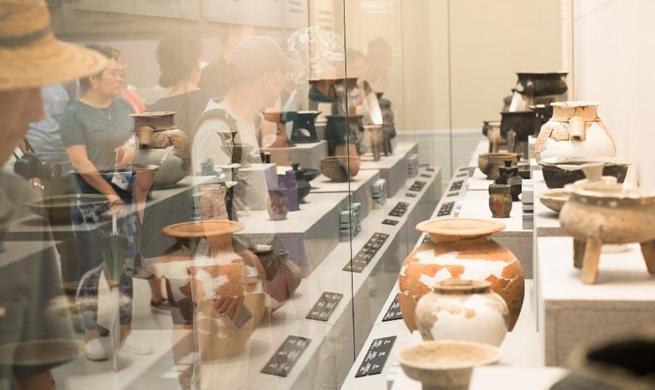 Liangzhu Museum reopens to public in Hangzhou
