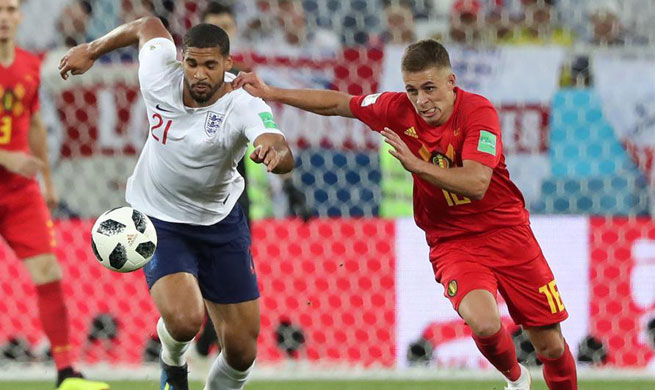 Belgium beats England 1-0 in World Cup Group G match
