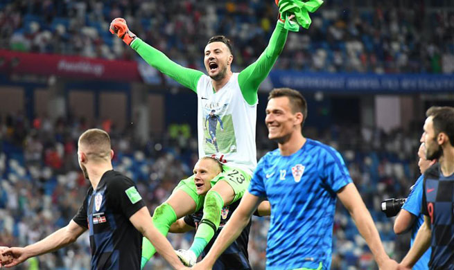 Croatia defeat Denmark 3-2 on penalties to reach World Cup quarterfinals