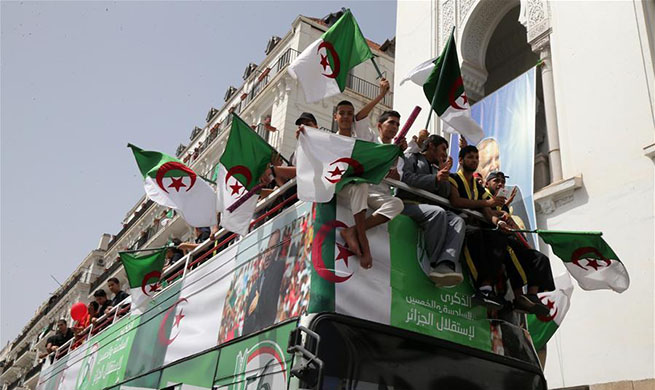Algeria celebrates 56th anniv. of independence in Algiers