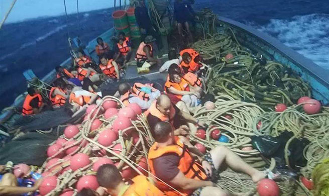 Majority of 133 passengers saved from 2 overturned boats in southern Thailand