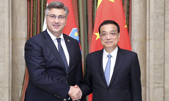 China ready to strengthen infrastructure cooperation with Croatia: premier