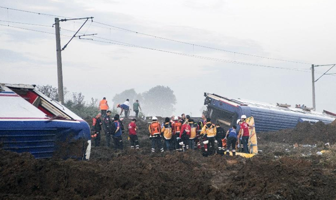 Reports say death toll from Turkey train derailment rises to 24