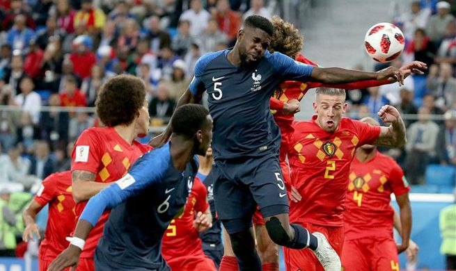 France into World Cup final after 1-0 win over Belgium