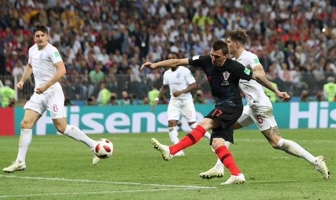 Croatia beat England to reach first World Cup final