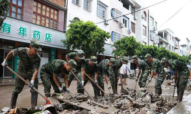 In pics: aftermath of Typhoon Maria in SE China's Fujian
