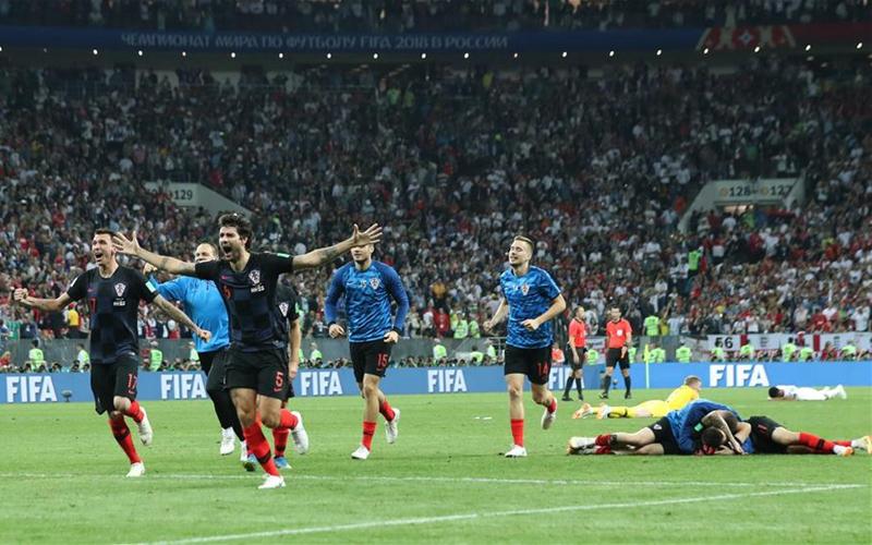 Croatia beat England to reach first World Cup final