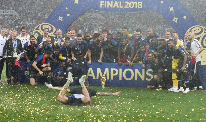 France claim second World Cup title with thrilling 4-2 win over Croatia