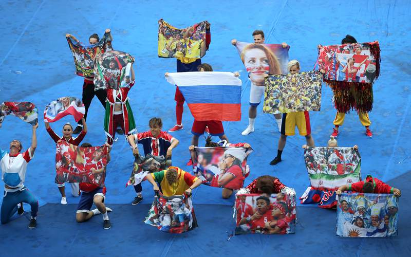 In pics: closing ceremony of 2018 FIFA World Cup