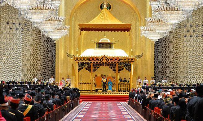 Brunei celebrates Sultan Haji Hassanal Bolkiah's 72nd birthday
