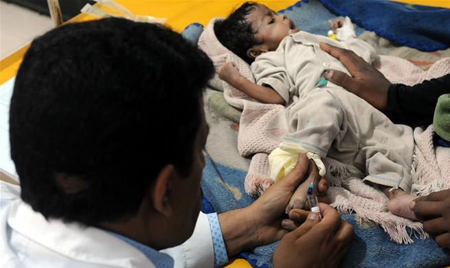 Yemen may be on the brink of a new cholera epidemic: WHO