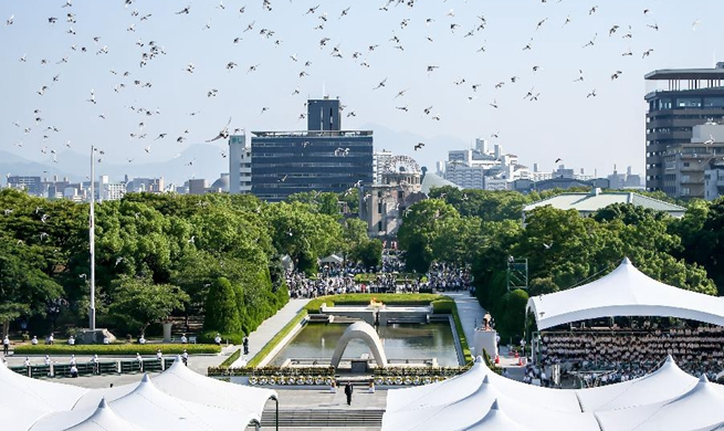 Japan marks 73rd anniv. of atomic bombing of Hiroshima