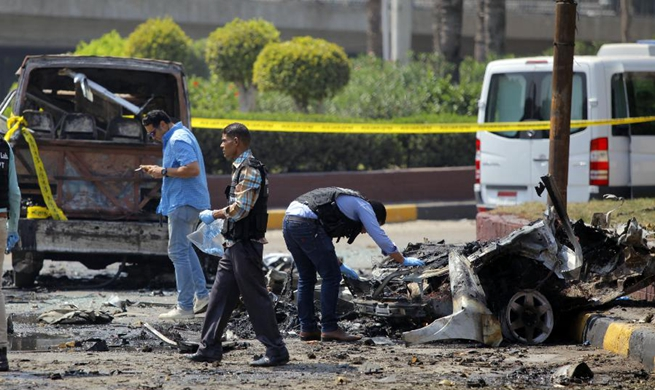 Thirteen people injured in car explosion in Cairo, Egypt