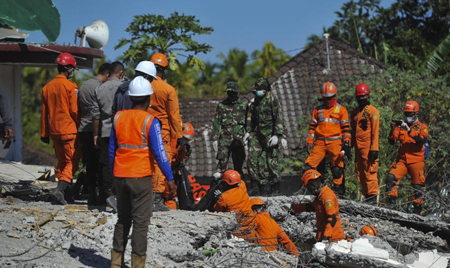 Rescue underway after Indonesia earthquake