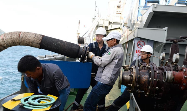 Tian'en vessel refuelled on Busan Sea waters en route to Europe