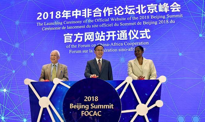 China opens FOCAC Beijing Summit 2018 Official website