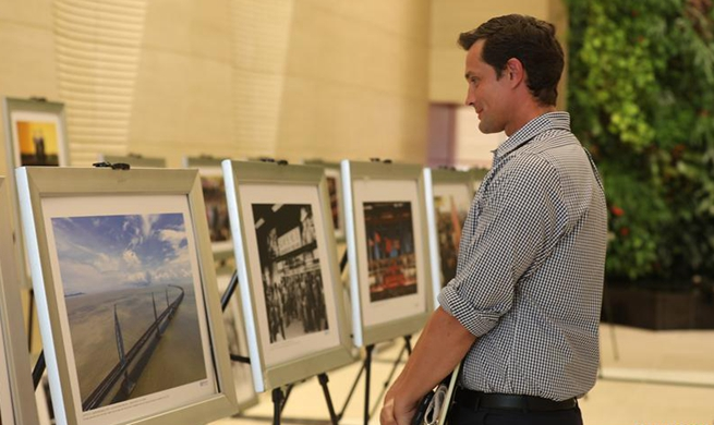 "Photo exhibition ""China's economic reform -- 40 years in the making"" opens in New York"