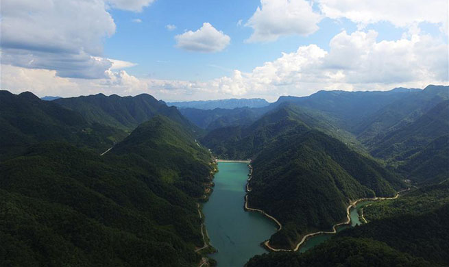 Scenery of Wulong District of SW China's Chongqing