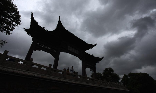 Yangzhou greets heavy rainfall due to influence of Typhoon Yagi