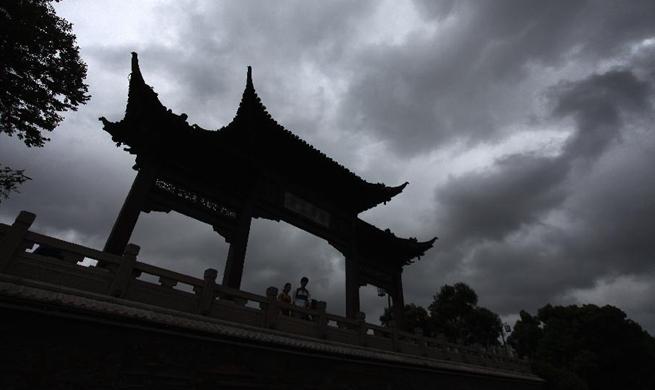 Yangzhou greets heavy rainfall due to influence of Typhoon Yagi