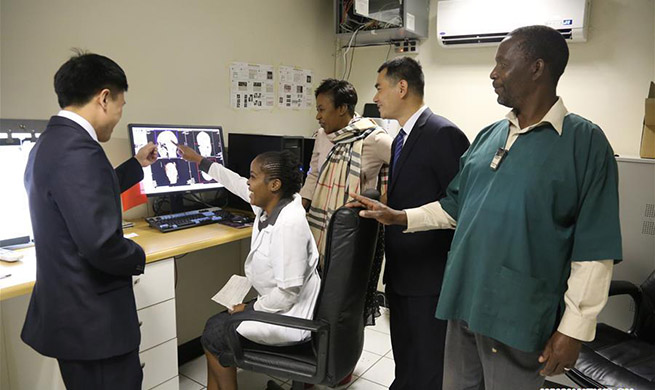 Chinese medical team provides medical treatment and surgery to local patients in Harare, Zimbabwe