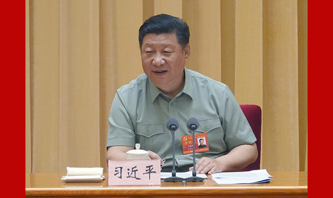 Xi requires strengthening CPC leadership, Party building in military