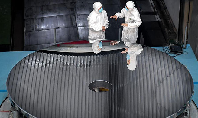 China develops large aperture optical mirror with high accuracy