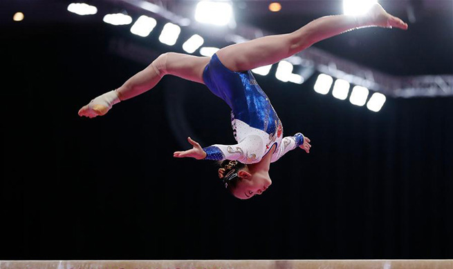 Chen Yile claims title of Artistic Gymnastics Women's Balance Beam