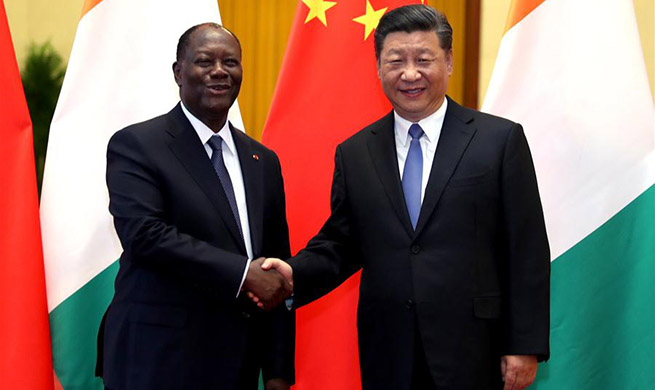 China, Cote d'Ivoire agree to promote bilateral ties to higher level