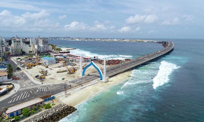 China-Maldives Friendship Bridge opens to traffic