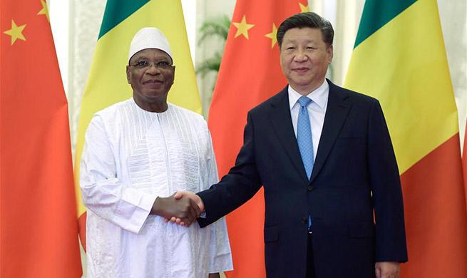 Xi meets Malian president