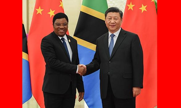 Xi meets Tanzanian prime minister