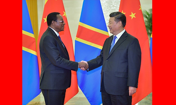 Xi meets DR Congo's prime minister