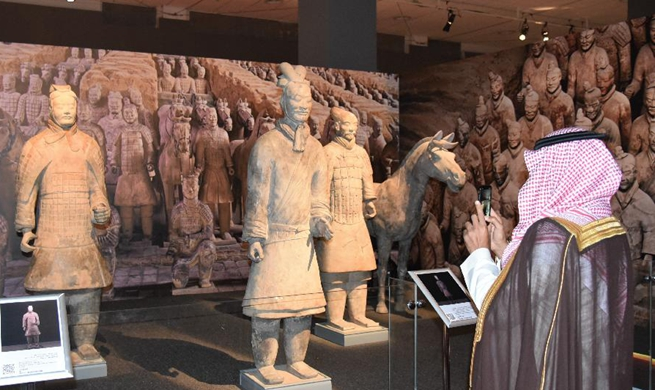 China's cultural relic exhibition kicks off in Saudi Arabia