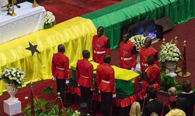 World leaders bid farewell to Kofi Annan